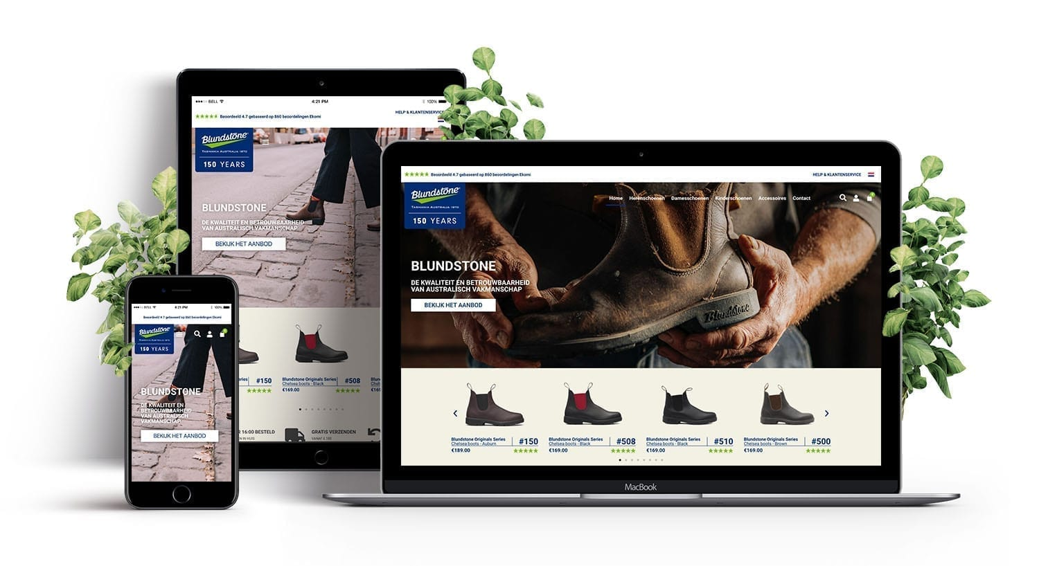 E-Expansion - new customer - Blundstone