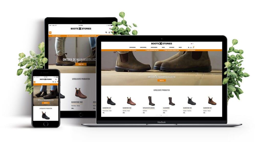 E-Expansion - Portfolio Boots and Stories