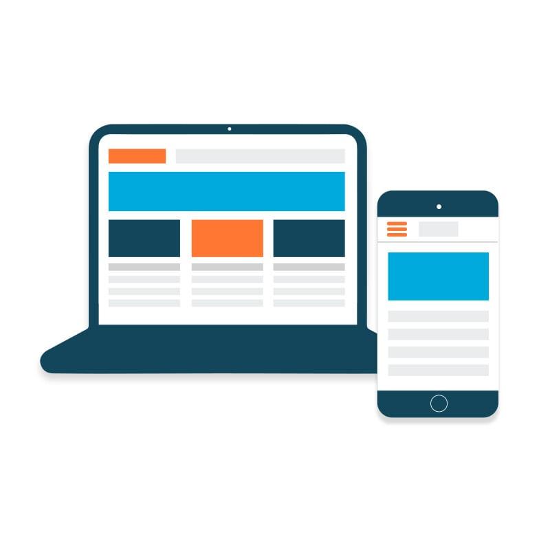 Mobielvriendelijke website van E-expansion