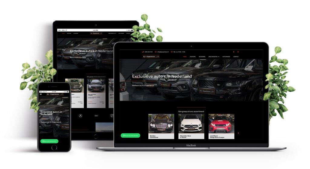 E-Expansion portfolio XJ-Experience auto's