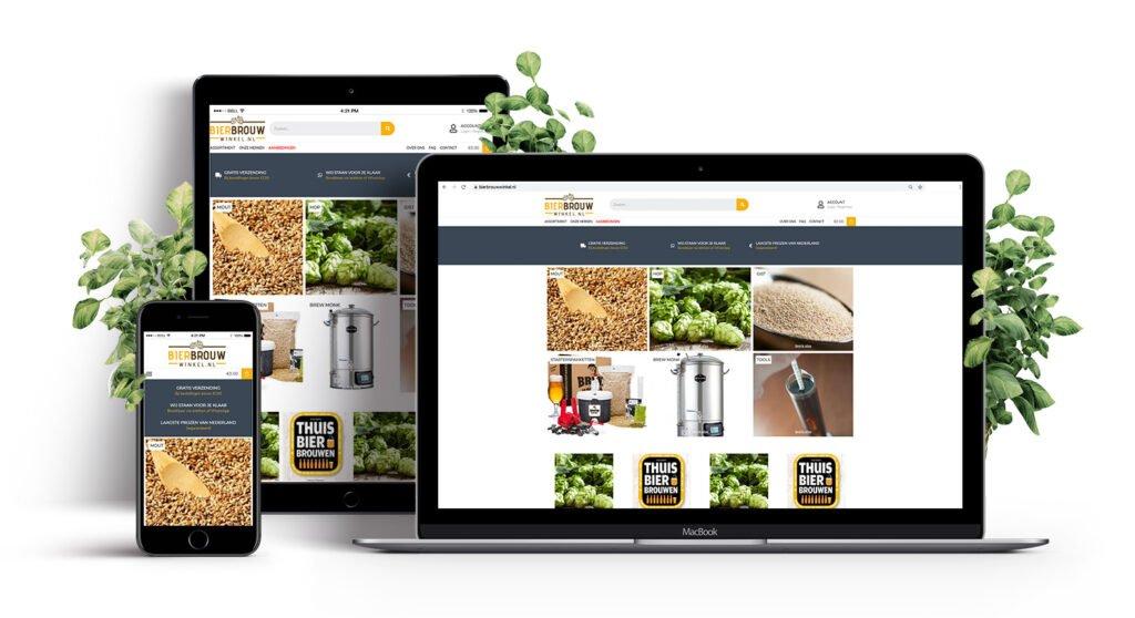 Bierbrouwwinkel porfolio E-expansion